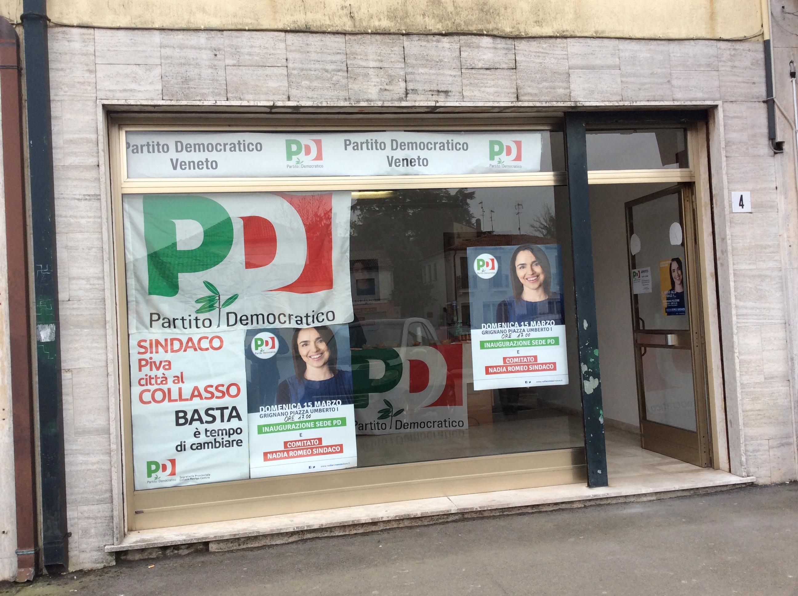 Nadia Romeo inaugura la sede di Grignano Pol.