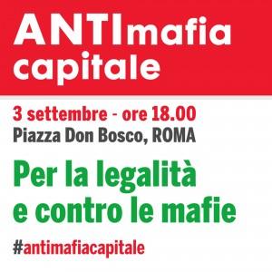 Il 3 settembre tutti insieme, senza bandiere, contro la mafia