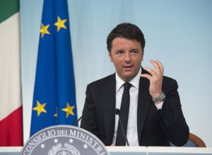 Matteo Renzi a Verona