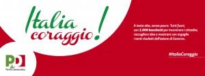 Italia coraggio. 2000 banchetti per dialogare con i cittadfini