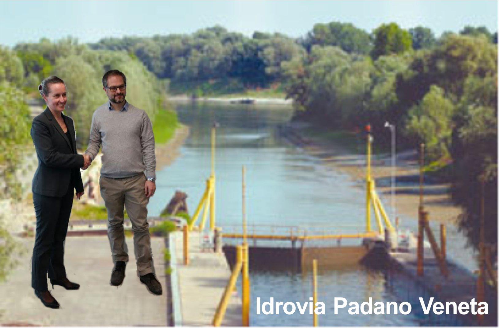 In Regione per lo sviluppo dell'Idrovia Padano Veneta