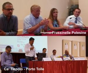 CAPOGRUPPO PD ETTORE ROSATO A PORTO TOLLE E FRASSINELLE