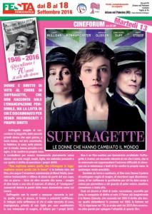 Ariano Polesine –  Martedì 13 Cineforum ore 21.00 : SUFFRAGETTE Le donne che hanno cambiato il mondo