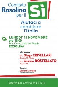 Rosolina – Aiutaci a cambiare l'Italia