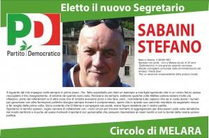 ELETTO IL NUOVO SEGRETARIO DEL CIRCOLO DI MELARA