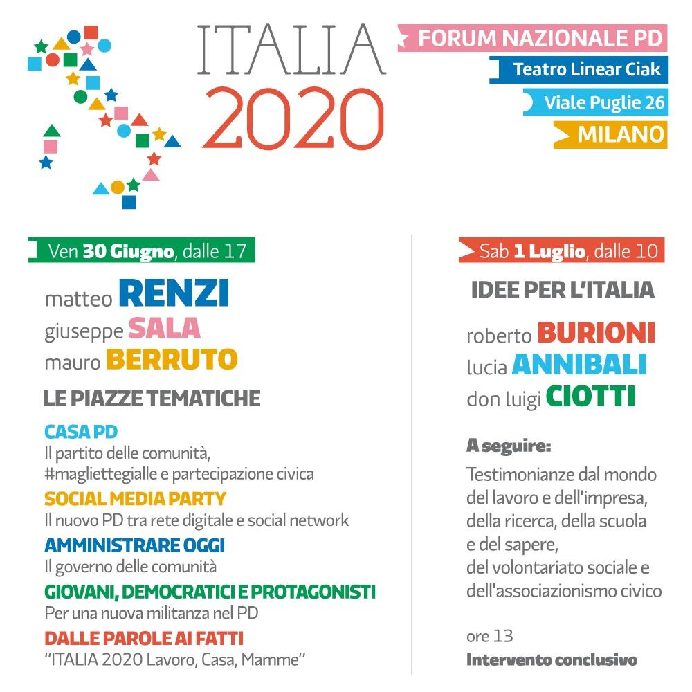 Democratica 2017 Forum nazionale PD