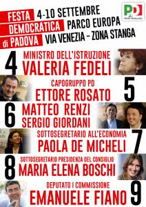 Festa del l'Unità di Padova