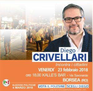 BORSEA incontra Diego Crivellari