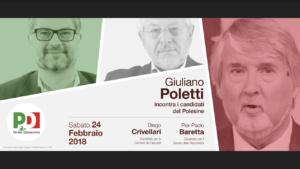 Porto Viro Giuliano Poletti incontra i cittadini del Polesine
