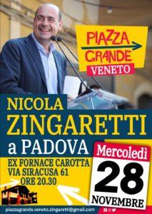 Zingaretti Nicola a Padova