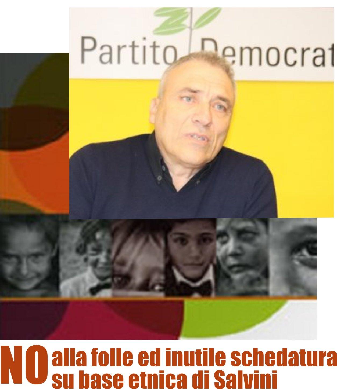 No alla folle ed inutile schedatura  su base etnica di Salvini