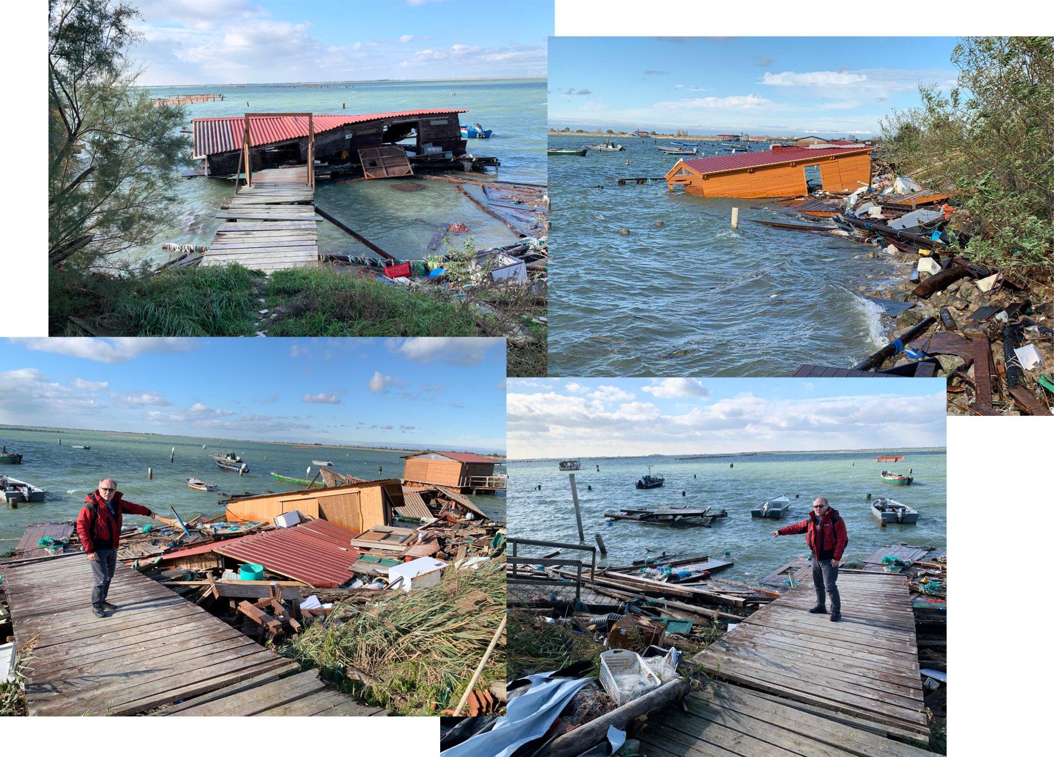 Delta devastato dal maltempo, i cambiamenti climatici sono la vera emergenza.   La Regione deve mettere i soldi nel bilancio, non ci sono solo Olimpiadi