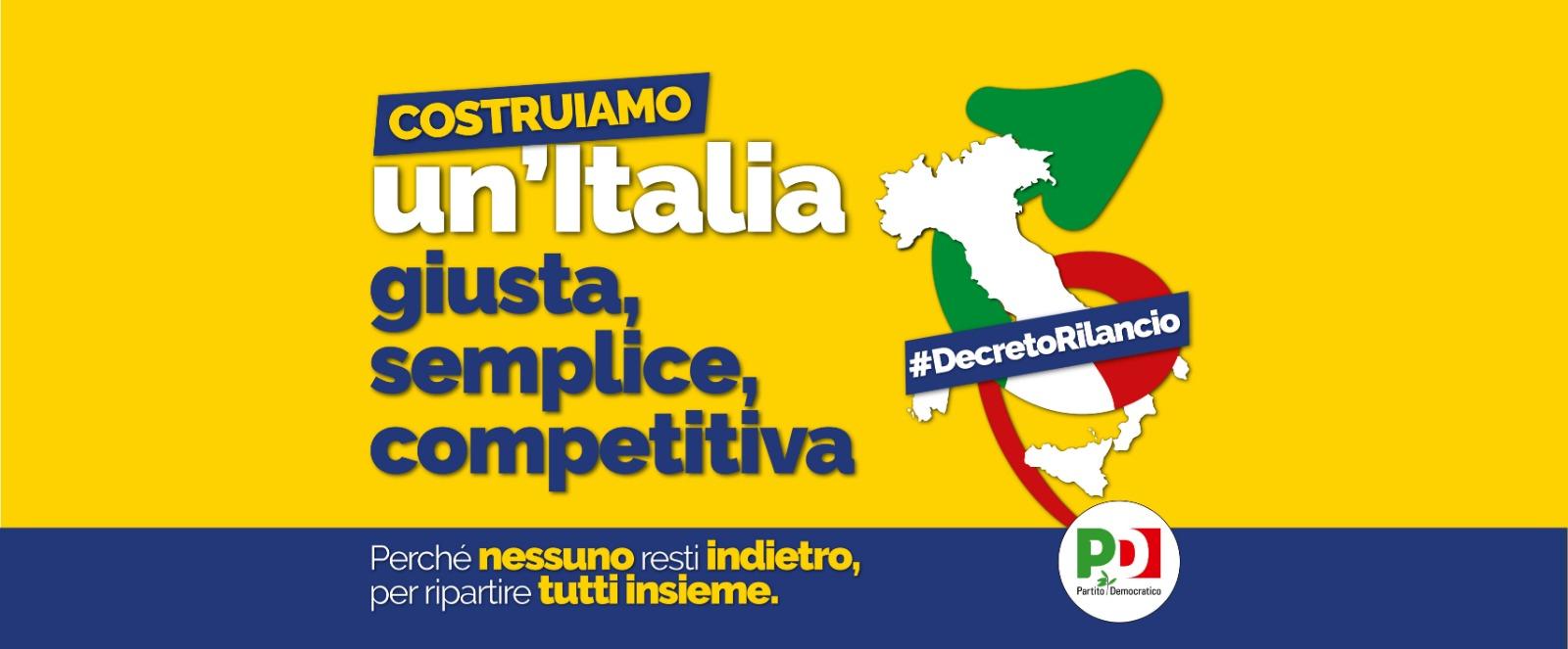 """""""Costruiamo un'Italia giusta, semplice, competitiva"""""""